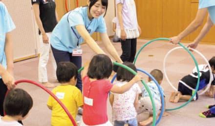 イメージ:学内地域子育て支援活動