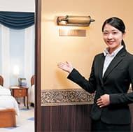 ホテル客室サービス実習