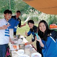 イメージ:キャンプ実習