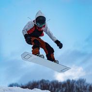 イメージ:スノーボード・スキー実習